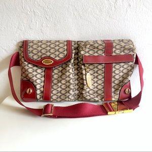 GUESS Red Trim G Logo Fanny Pack Belt Bag